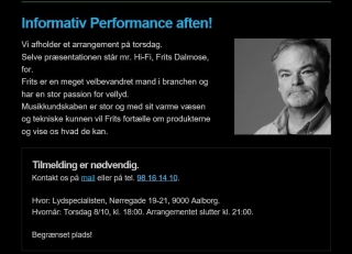 Fire danske mærker, fire nyheder - én demoaften!
