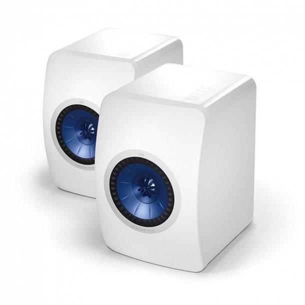 KEF LS50 / demo-sæt i hvid