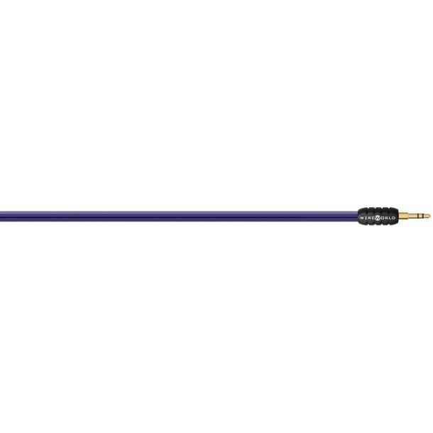 Wireworld Pulse  1 stk. 3,5 mm mini jack til 2 stk. rca stik 1,0m