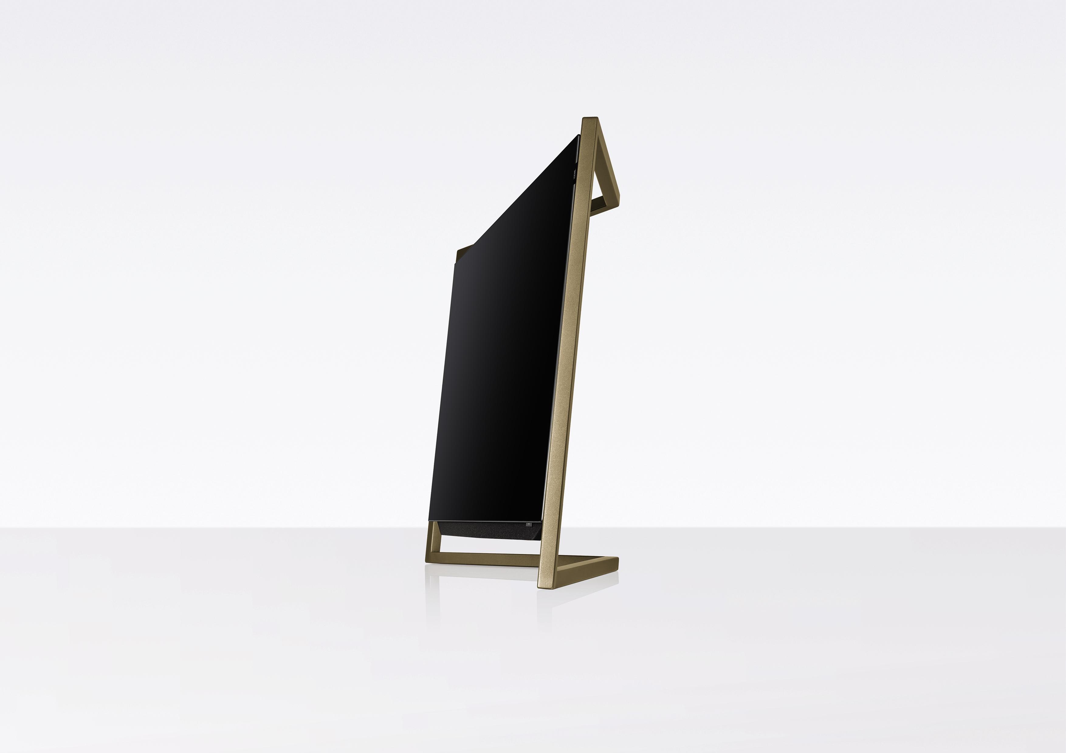 loewe bild 9 55 amber gold bordstander bild 9 lydspecialisten aps. Black Bedroom Furniture Sets. Home Design Ideas
