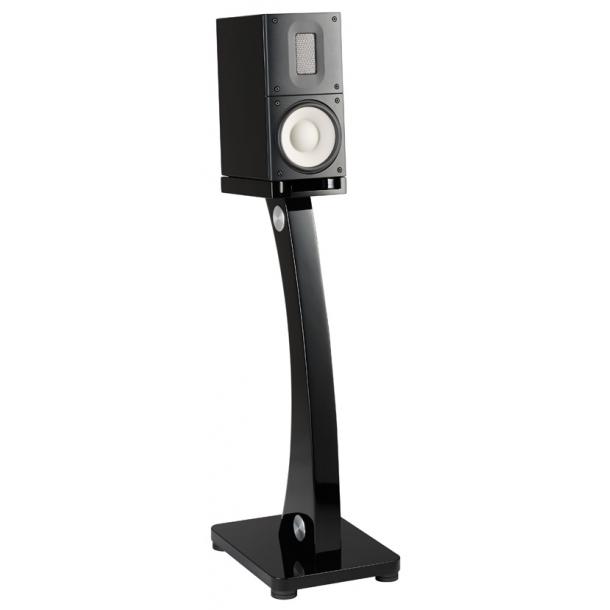 Raidho Acoustics X-1/demo-sæt i hvid med stander