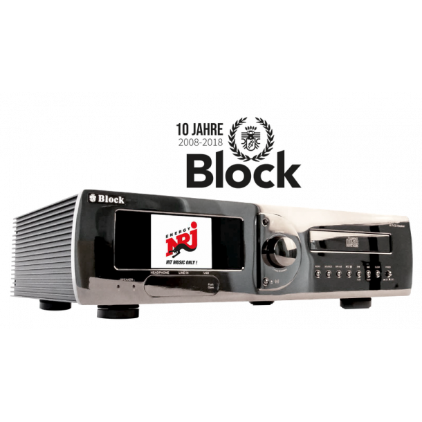 Audioblock CVR-100+ MKII Limited Edition Chrom
