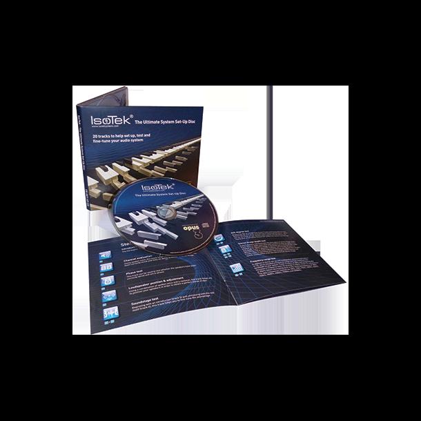 Isotek Ultimate System Set-Up Disc
